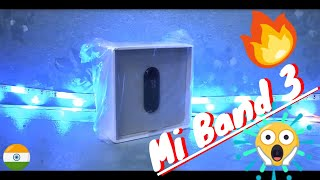 Xiaomi Mi Band 3 Unboxing | Hindi | Best Mi Fitness Tracker   🔥🔥🔥