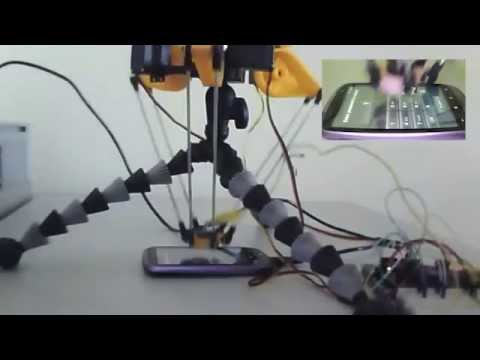 Watch A Robot Crack A Smartphone Passcode Using Brute Force