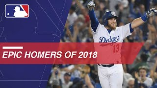 Exciting homers from 2018