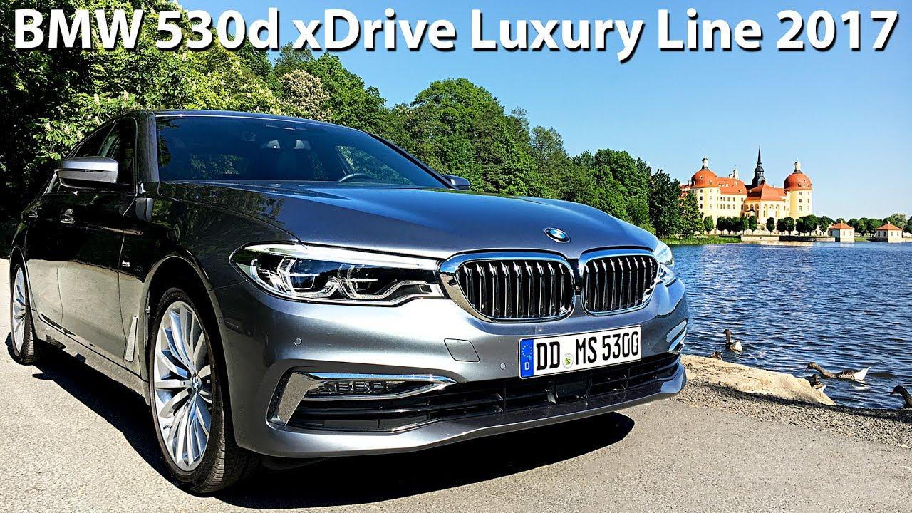Bmw 530d Xdrive G30 Luxury Line 2017 265hp Carcut Youtube