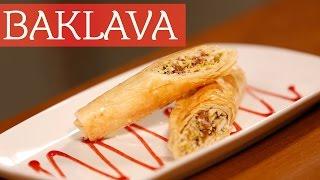 बकलव - मडल ईसट क फमस मठई  Baklava I Easy Baked Recipe I Chef Meghna