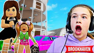 ADOPTED BY A CELEBRITY!! **BROOKHAVEN ROLEPLAY** | JKREW GAMING