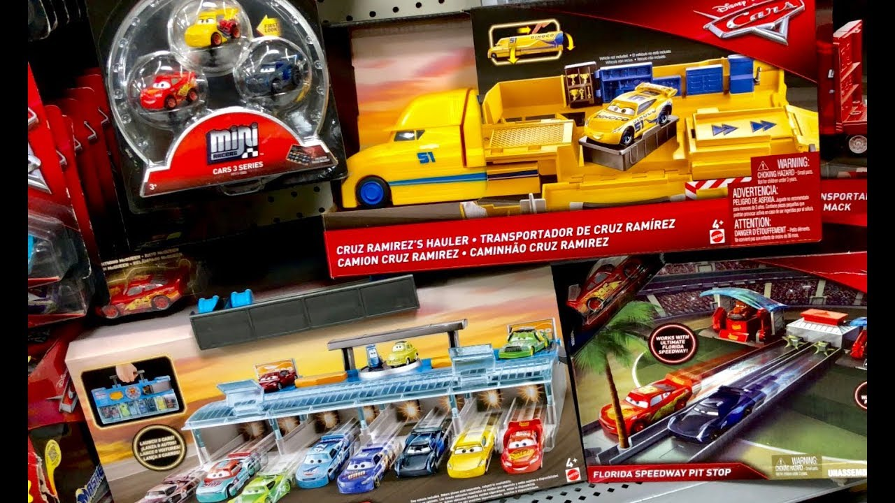 New Disney Cars 3 Toys Hunt Cruz Ramirez S Hauler Metallic