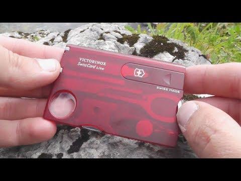Карта Swiss Card от Victirinox