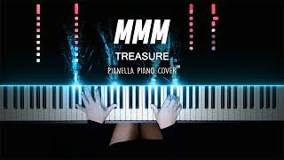 TREASURE - MMM | Piano Cover by Pianella Piano видео