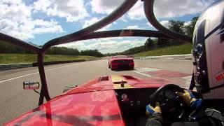 caterham csr 260 race dijon prenois avec gilles et sa cat duratec r juillet 2012