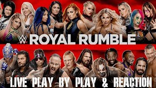 2020 WWE Royal Rumble Live Play by Play & Reaction