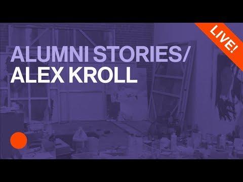 Studio Visit With Fine Art Faculty Alex Kroll