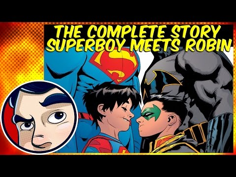 Superman Superboy VS Robin  Rebirth Complete Story