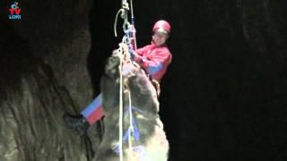 HGSS Gospić iz jame izvlačili medvjeda!