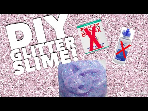 how to make slime no borax no contact solution