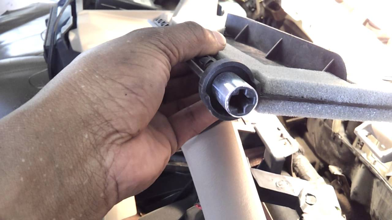 hight resolution of ford expedition broken blend door fix