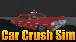 I'M GOING TO RUIN MY NEW CHRYSLER! 😂😰 | ROBLOX: Car Crushers Simulator 2