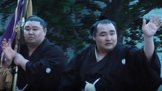 平成30年大相撲 夏場所 【横綱 鶴竜】優勝パレード 2018/05/27.