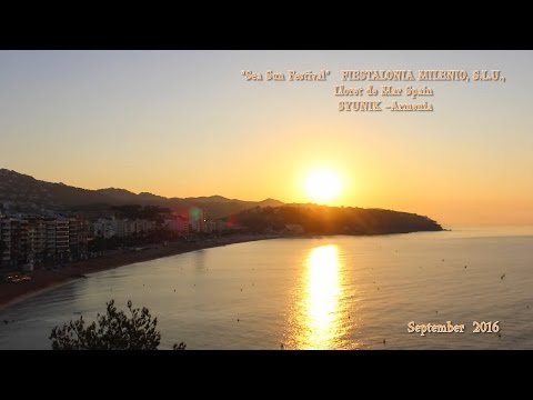 """Sea Sun Festival""Lloret de Mar Spain. SYUNIK –Armenia( Backstage )"