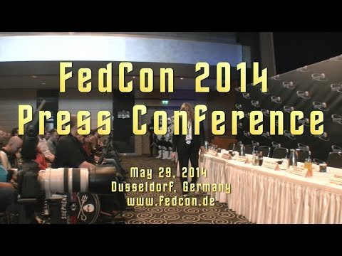 FedCon 2014 - Press Conference / Pressekonferenz - HD