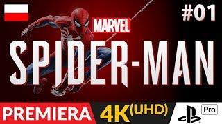 SPIDER-MAN PL (PS4 / 2018)  #1 (odc.1)   Nowy hit na PlayStation 4 | Gameplay po polsku w 4K