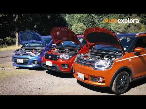 Comparativo: Suzuki Ignis vs FIAT Mobi vs Chevrolet Spark