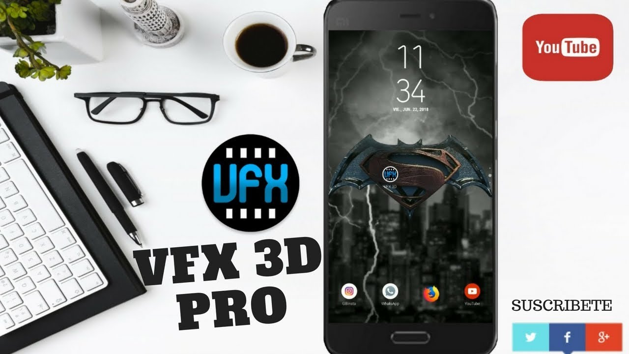 Wallpapers 3d Increíbles Android 2018 Vfx 3d Wallpaper Youtube