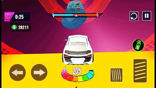 Ramp Car Stunt Races GT Car Impossible Stunts Game - Impossible Car Ramp Games - Android GamePlay #2 screenshot 5