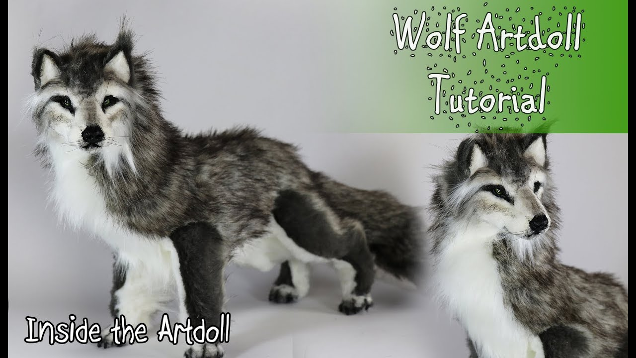 Realistic Wolf Commission Artdoll Tutorial Youtube
