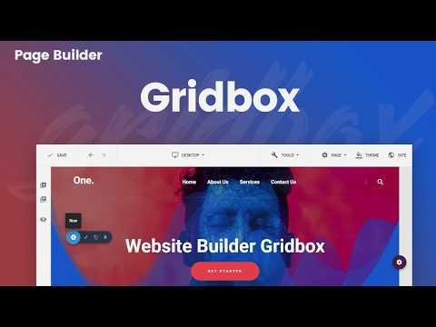 Gridbox Page Builder - Custom HTML Element
