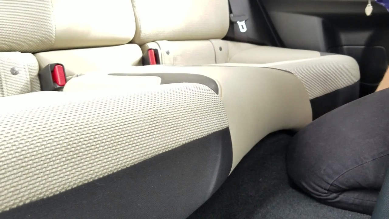 Rear Cushion Removal For Custom Seat Cover Installation