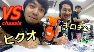 【ミニ四駆】VS蛍光シャーシでヒクオ・ギロチン!! / ジャパンカップ2014 東京大会2前強化動画 thumbnail