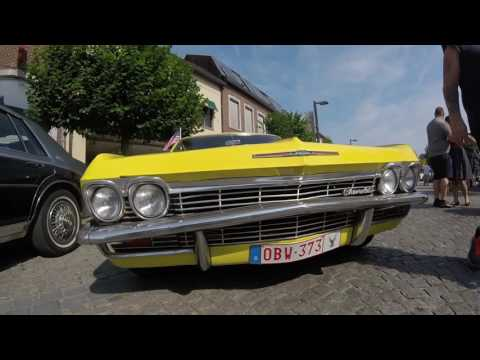 American retro meeting Peer - cars & coffee friends 21/07/2016