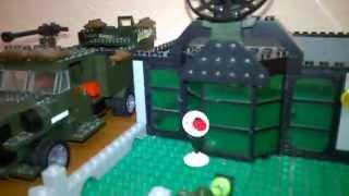 (Выпуск 6)Военная База Lego