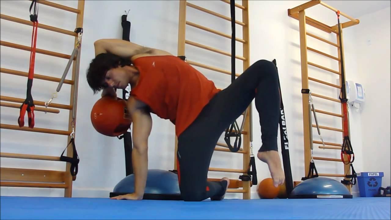Pilates for Men - Prof. Gustavo Godoy - Advanced Pilates Medicine Ball Vipilates