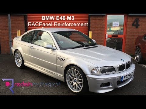 BMW E46 M3 RACP Reinforcement - POR15 corrosion treatment