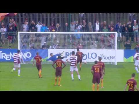 Roma-Pinzolo 16-0, tutti i gol e gli highlights. Poker di Dzeko