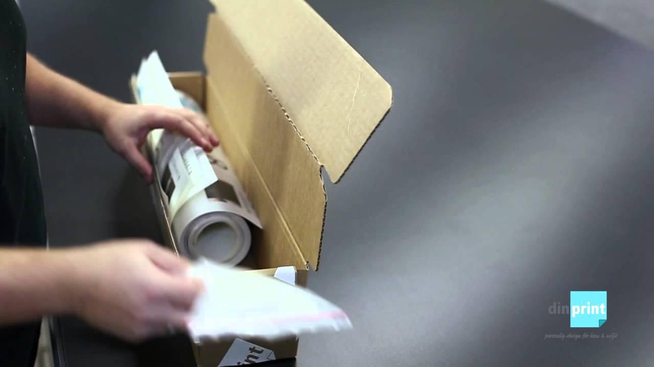 Fototapeter från dinprint.se - YouTube
