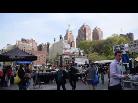 Union Square Walking Tour - New York (2017)