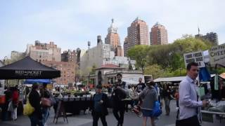 Union Square Walking Tour - New York (2017)