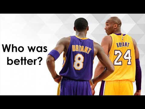 Which version of Kobe was better - #8 or #24?