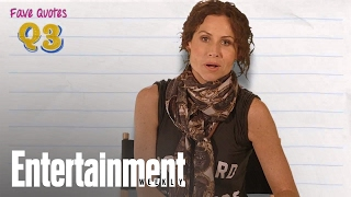 Minnie Driver Takes Our Pop Culture Personality Test - Entertainment Weekly