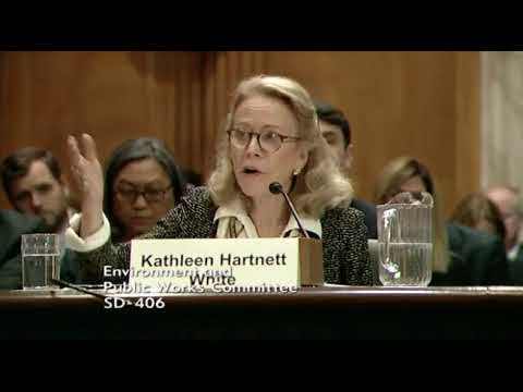 Senator Carper Questions Andrew Wheeler and Kathleen Hartnett White, 11/8/17