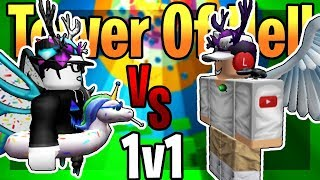 Viper VS Dyverz ROBLOX!! *Pro Players* Tower Of Hell!!