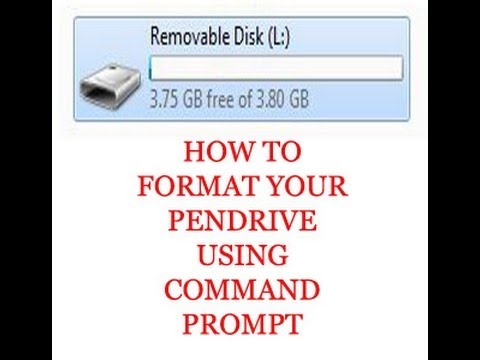 Sandisk Write Protection Removal and Format Instruction