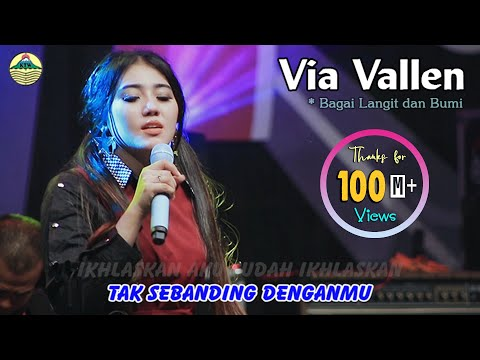 Via Vallen - Bagai Langit Dan Bumi|(Official Video)#music