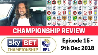 EFL Championship Review - 9th Dec 2018