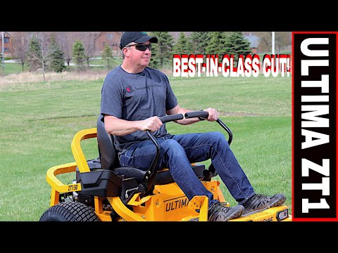 "CUB CADET ULTIMA ZT1 MOWER REVIEW & DEMONSTRATION! 50"" DECK"