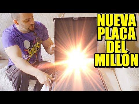 YA LLEGÓ!!! NUEVA PLACA DEL MILLÓN DE SUSCRIPTORES, DISEÑO NUEVO