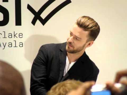 Justin Timberlake William Rast Launch at The Bay Toronto