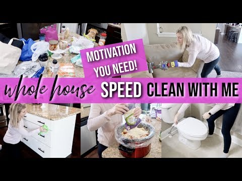 ULTIMATE ALL DAY WHOLE HOUSE CLEAN WITH ME 2019 | EXTREME CLEANING MOTIVATION | MOTIVATION YOU NEED!
