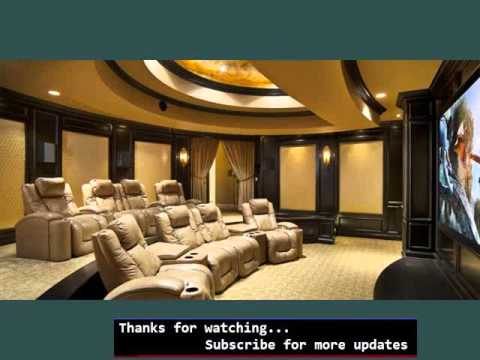 Home Theater Furniture | Home Theater Seating Ideas - Youtube