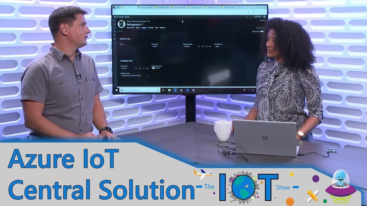 Channel 9-Video: Das bietet Azure Maps in Azure IoT Central
