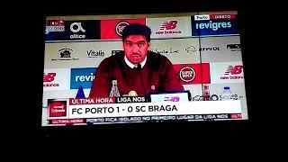 Conferência de Imprensa-Abel Ferreira- Porto vs Sc Braga (1-0) 10-11-2018